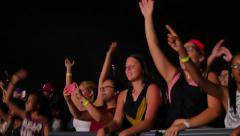 Audience, Crowd - stock footage