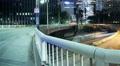 4K Freeway Traffic Time Lapse 08 LA Downtown 110 Freeway Pan R Footage