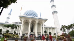 Raya Qurban Timelapse Stock Footage
