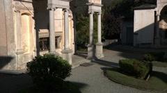 Sacred Mountain, Varallo Sesia, Piedmont, Italy Stock Footage