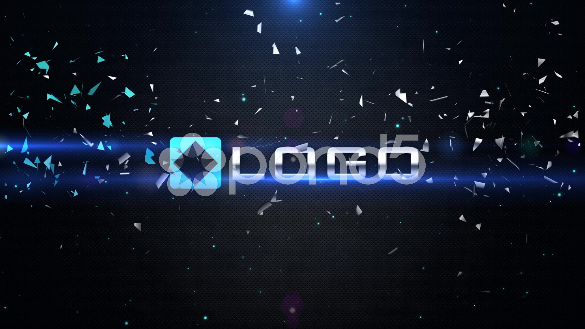 After Effects Project - Pond5 Dynamic 3D Logo Impact Shatter Particles Expl ...