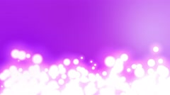4k abstract motion background dancing orbs lava lamp style loop Stock Footage