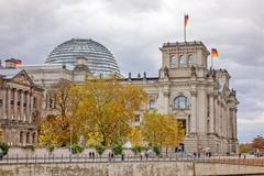 Stock Photo of Reichstag, Berlin