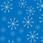 Snow pattern background - stock illustration