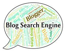 Blog Search Engine Means Gathering Data And Analysis Piirros