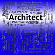 Architect Job Means Creator Hiring And Occupations Piirros