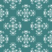 Stock Illustration of Seamless fractal pattern simulating frost
