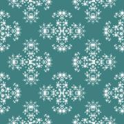 Seamless fractal pattern simulating frost - stock illustration