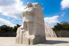 The Martin Luther king memorial Stock Photos
