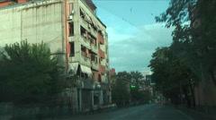 Tirana traffic (Albania) Stock Footage