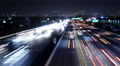 4K Freeway Traffic Time Lapse 45 West LA 405 Freeway Loop Footage