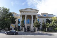 City view of the capital of Baku, in Azerbaijan. - stock photo