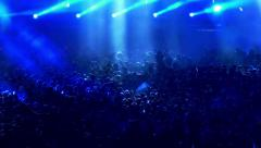 Crowd Concert Stock Footage