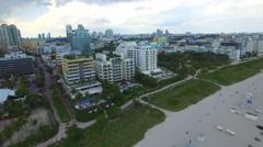 Condos in Miami Beach Stock Footage