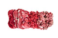 red meat parts - stock photo