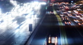 4K Freeway Traffic Time Lapse 55 West LA 405 Freeway Loop 4k or 4k+ Resolution