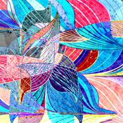 Abstract a background Stock Illustration
