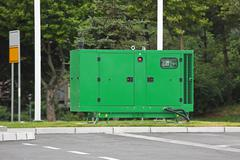 Electric Generator Stock Photos