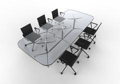 Business Meeting Room - stock illustration