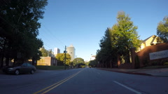 Work Commute, Atlanta to Alpharetta, GA Stock Footage