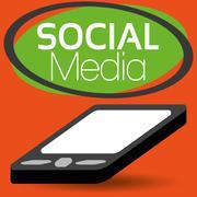 Illustration Vector Graphic Social Media Stock Illustration
