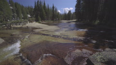 Tuolumne River Panning Right to Left Stock Footage
