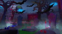 Halloween Soul Reaper - 4K Stock Footage