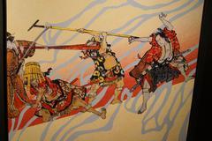 Traditional Japanese Samurai painting Kuvituskuvat