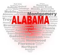 Alabama Heart - stock illustration