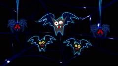Halloween Craze Party Bat 4K 03 Stock Footage