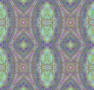 Seamless ellipses pattern purple turquoise Stock Illustration