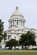 Capitol Building of Arkansas. - stock photo