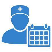 Stock Illustration of Doctor Appointment Icon