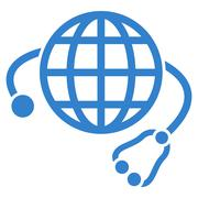 Global Medicine Icon - stock illustration