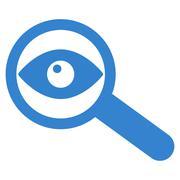 Investigate Icon - stock illustration