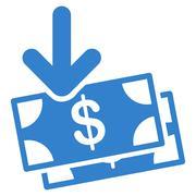 Stock Illustration of Money Income Icon