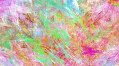 Colorful chaos - seamless pattern moving Stock Footage