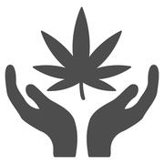 Cannabis Care Icon Piirros
