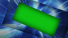 Fibers Technology Concept, with Green Screen and Alpha Channel, 4k Stock Footage