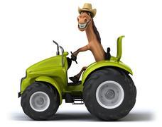 Stock Illustration of Fun horse