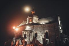 old Church in Kamianets Podilskyi - stock photo