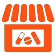 Drugstore Icon Piirros