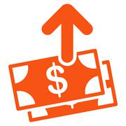 Spend Money Icon Stock Illustration