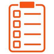Stock Illustration of Test Form Icon