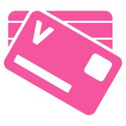Stock Illustration of Banking Cards Icon