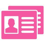 Patient Accounts Icon - stock illustration