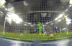 UEFA Europa League semifinal game Dnipro vs Napoli - stock photo