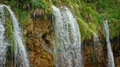 National Park Plitvicka jezera. Europe. 4K Stock Footage