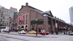 St. Lawrence Market in Toronto - stock footage