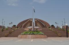 Pakistan Monument Stock Photos